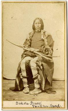Dakota Brave - Native American Indian.