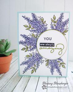 """Gefällt 7 Mal, 2 Kommentare - Hmade Boutique (@hmade_stampinup) auf Instagram: """"lots of Lavender #saleabration2018 #stampinup #stamping #amazingyou #handmadecards #수제카드 #핸드메이드카드…"""""""