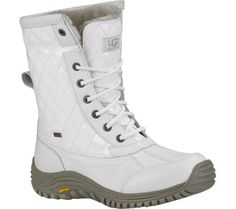 UGG Australia Women's Adirondack Boot (6.5 B(M) US, White) -- Find out more about the great product at the image link.