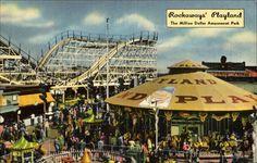 The Million Dollar Amusement Park Rockway Beach New York