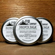 Get all 3 of our all-natural beard balms formulated to grow, repair, and strengthen your beard while holding your whiskers in place all day. Save $10! Made in Colorado.