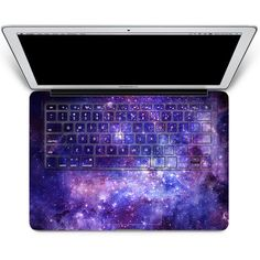 Macbook decal Macbook Keyboard Decal Macbook Pro Keyboard Skin Macbook... ($26) ❤ liked on Polyvore featuring accessories, tech accessories, other, technology and 3m