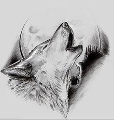 tattoo flash by GarageGraph on DeviantArt - tattoo flash by GarageGraph.devia… on - Pencil Art Drawings, Art Drawings Sketches, Tattoo Sketches, Tattoo Drawings, Tattoo Ink, Arm Tattoo, Wolf Tattoo Design, Tattoo Designs, Wolf Design