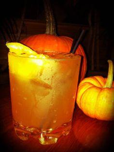Witch's Brew (1½ oz. rum 1 oz. pineapple juice 1 oz. cranberry juice 2 oz. lemon-lime soda)
