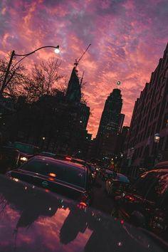 55 ideas urban landscape photography city life sky for 2019 Tumblr Wallpaper, Wallpaper Backgrounds, Cloud Wallpaper, Iphone Wallpaper, Sunset Wallpaper, Wallpaper Size, Wallpaper Art, Purple Wallpaper, Nature Wallpaper