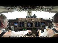 ▶ VIDEO 747 400 LH456 PILOTS EYE TV EDDF TO KLAX - YouTube