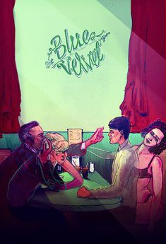 Blue Velvet poster design