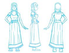Eritia es una de siete hermanas, las Hespérides, hijas de Nix. En Eliseos ella era responsable junto con su hermana Lípara de cuidar del árbol del Alba, pero al ser destruido por su madre, Eritia también muere, o eso cree ella al renacer en la cabeza de Virginia. Ahí la conocería a ella y a Amelia Earhart, la primera Hija de Atlas, con quienes se uniría para forma una nueva versión de la heroína.