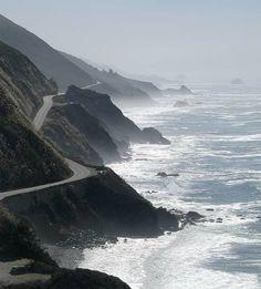 Pacific Coast Hwy, through Big Sur, California