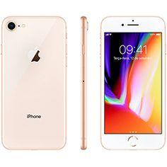 """Iphone 8 Plus 64GB Ouro Tela 5.5"""" iOS 12 4G Câmera 12MP - Apple no Submarino.com"""