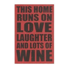 Love, Laughter, and Lots Of Wine Wall Plaque   Kirkland's