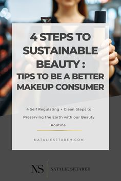 There are four key things I think we can do as consumers to improve sustainability as we shop for, wear, and dispose of makeup and beauty products: 1. Build Your Own & Refillable Palettes 2. Sustainable Materials in Packaging 3. Recycling & Repurposing Cosmetic Materials 4. Sustainable, Clean, & Cruelty-Free Formulas Best Makeup Products, Beauty Products, Gifts For Makeup Lovers, Drugstore Makeup, Repurposing, Beauty Routines, Stocking Stuffers, Cruelty Free, Sustainability