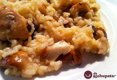 Ya tenemos las mejores setas en el campo y en el mercado. Animaros con este arroz con boletus http://www.recetasderechupete.com/arroz-con-boletus/14082/ #Boletus #Otoño