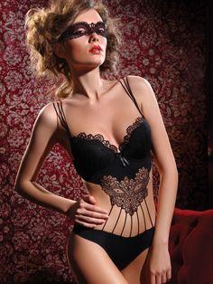 608653824df53 Jolidon Lingerie Sensual Black Teddy Push Up Padded Top Bodysuit Lingerie  http   www