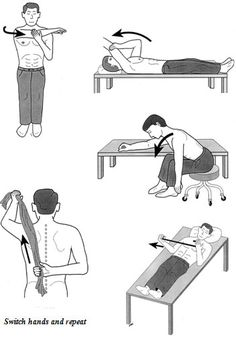 frozen shoulder excercises