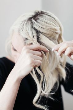 How To Side Braid On Short Hair