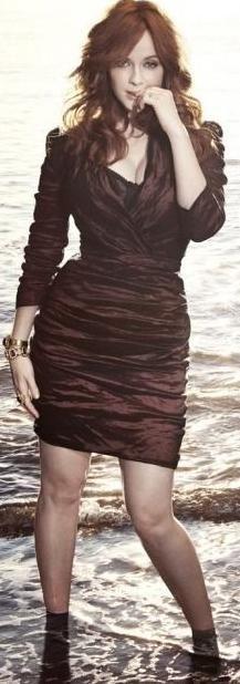 Christina Hendricks ♠ by alwaraky ♠