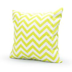 Lavievert Decorative Cotton Canvas Square Throw Pillow Cover Cushion Case Handmade White and Lemon-yellow Chevron Stripe Toss Pillowcase with Hidden Zipper Closure (For Living Room, Sofa, Etc... Fit a 16 X 16 Inches Insert) Lavievert,http://www.amazon.com/dp/B00GHGQWYO/ref=cm_sw_r_pi_dp_L0.Psb18MGWSPJWK