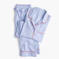 J.Crew Gift Guide  women s tipped vintage pajama set. Cotton Pjs 686d75686