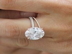 Blake Lively's oval in rose gold is truly stunning. http://www.delivermediamonds.com/tag/blake-lively-wedding/