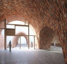 Galería de Studio Pei-Zhu diseña un museo abovedado inspirándose en antiguos hornos de cerámica - 12