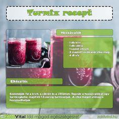 Egy finom chia magos céklaturmix receptje. Te próbáltad már? #cékla #turmix
