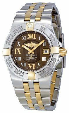 Breitling Women's B71340L2-Q562TT Galactic 30 Brown Dial Watch Breitling. $3544.47. Quartz movement. Durable sapphire crystal protects watch from scratches,. Brown dial watch. Water-resistant to 100 M (330 feet). Case diameter: 30 mm. Save 47% Off!
