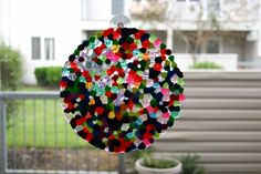 Melted Plastic Bead Suncatchers great summer project must try! :: ecrafty