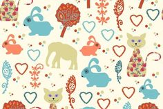 2 vintage patterns by LuizaVictorya on Creative Market