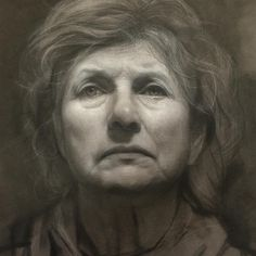 Unknown Charcoal Portraits by David Kassan