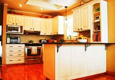 chalk paint kitchen cabinets - Google Search