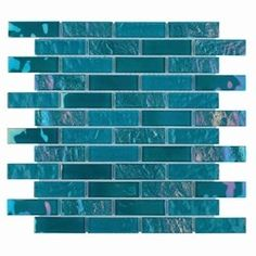 Summer Glass Tile Iridescent Turquoise for swimming pool and spas. Glass Subway Tile, Glass Mosaic Tiles, Plumbing Pipe Furniture, Plywood Furniture, Modern Furniture, Furniture Design, Pool Steps, Pool Designs, Recycled Glass