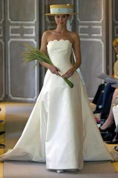 My wedding dress- Carolina Herrera - Bridal Week - 2004 Collection