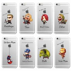 Avengers Cartoon Super Heroes Case For Samsung