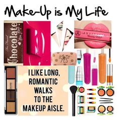 """makeup is my Life"" by felicitysparks ❤ liked on Polyvore featuring beauty, Yves Saint Laurent, Anastasia Beverly Hills, Zoella Beauty, Too Faced Cosmetics and NARS Cosmetics"