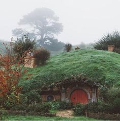Hobbiton, New Zealand Tolkien, Earth Bag, Der Plan, Earth Homes, Fantasy, Interior Exterior, Middle Earth, Lord Of The Rings, Lotr