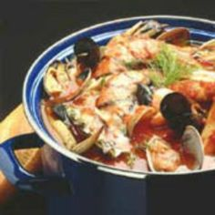 You will not believe how easy it is to make this San Francisco Cioppino. Be creative with this fish stew: leave something out, or substitute something new.