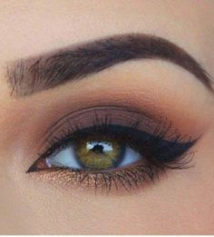 This is the finest eye makeup Inspirational Ladies - Make up - . - This is the finest eye makeup Inspirational women – make up – - Eyeliner Make-up, Eyeshadow Makeup, Eyeshadow Palette, Sparkly Eyeshadow, Brown Eyeshadow Looks, Yellow Eyeshadow, Airbrush Makeup, Drugstore Makeup, Brown Eyeshadow Tutorial