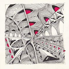 susanne hhn lorenz google tangle mosaik projekt muster mixer pinterest mosaik und muster - Zentangle Muster