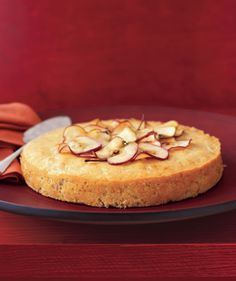 Apple-Maple Cake: Maple syrup provides the sweetness in this simple and delicious cake