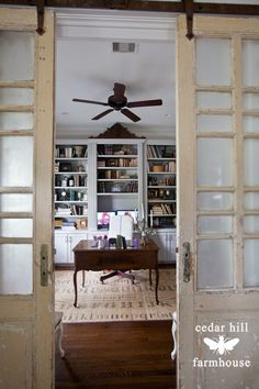 antique-french-barn-doors #frenchdecor