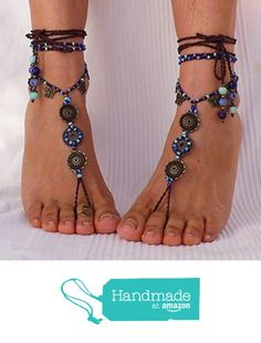 7663e76aa7f Barefoot Sandals Sky Mandala - Hippie Chic Yoga Jewelry - Beach Wedding -  Foot accessories - Belly dance. Festival Clothing ...