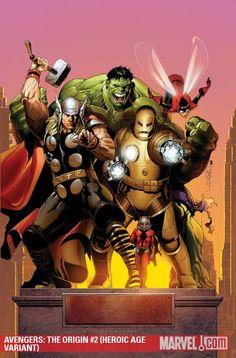 The real Avengers <3: Thor, Hulk, Iron Man, Wasp, and Ant-Man