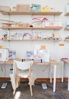 Querido Refúgio, Blog de decoração e organização com loja virtual: Um espaço para trabalhar e criar...em espaços pequenos