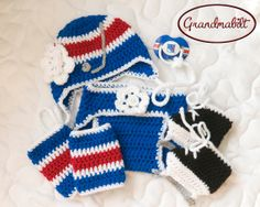 ffb328d769a New+York+Rangers+Girls+Hockey+Hat++Diaper+Cover