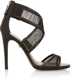 Diane+von+Furstenberg+Jules+leather+and+mesh+sandals+on+shopstyle.com