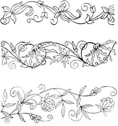 Free Hand Embroidery Patterns - pintangle.com