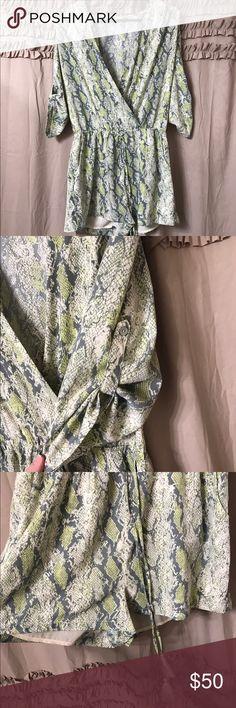 Selling this Gianni Bini romper size M on Poshmark! My username is: canhowe. #shopmycloset #poshmark #fashion #shopping #style #forsale #Gianni Bini #Dresses & Skirts