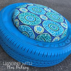 DIY Tire Seats - Hanging with Mrs. Hulsey