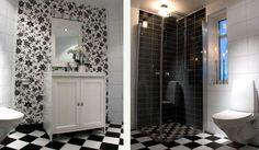 Tapet i badrum | Inspiration för ditt badrum hos INR